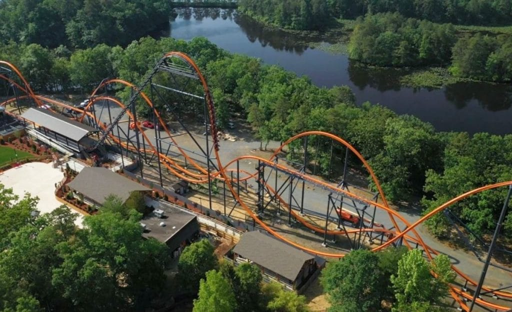 World's Longest, Tallest & Fastest Single-Rail Coaster Will Open Near NYC This Weekend