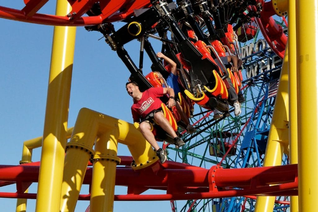 Coney Island's Brand New Thrilling Rollercoaster The 'Phoenix' Is Now Open