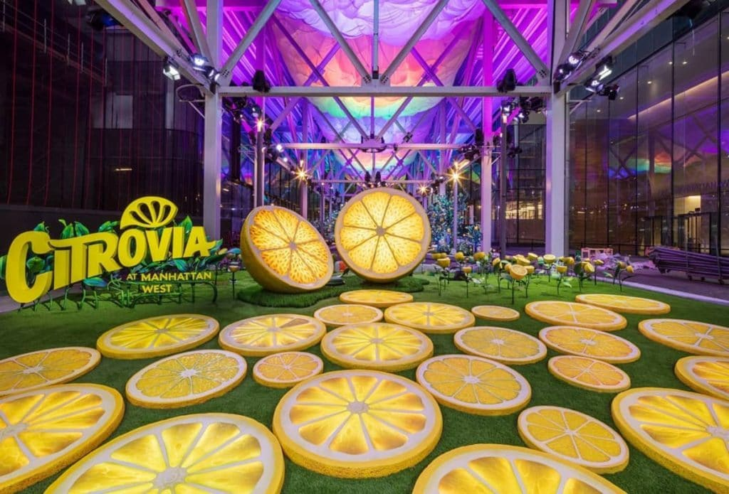 This Free Citrus Garden Wonderland Just Popped Up On The West Side • Citrovia