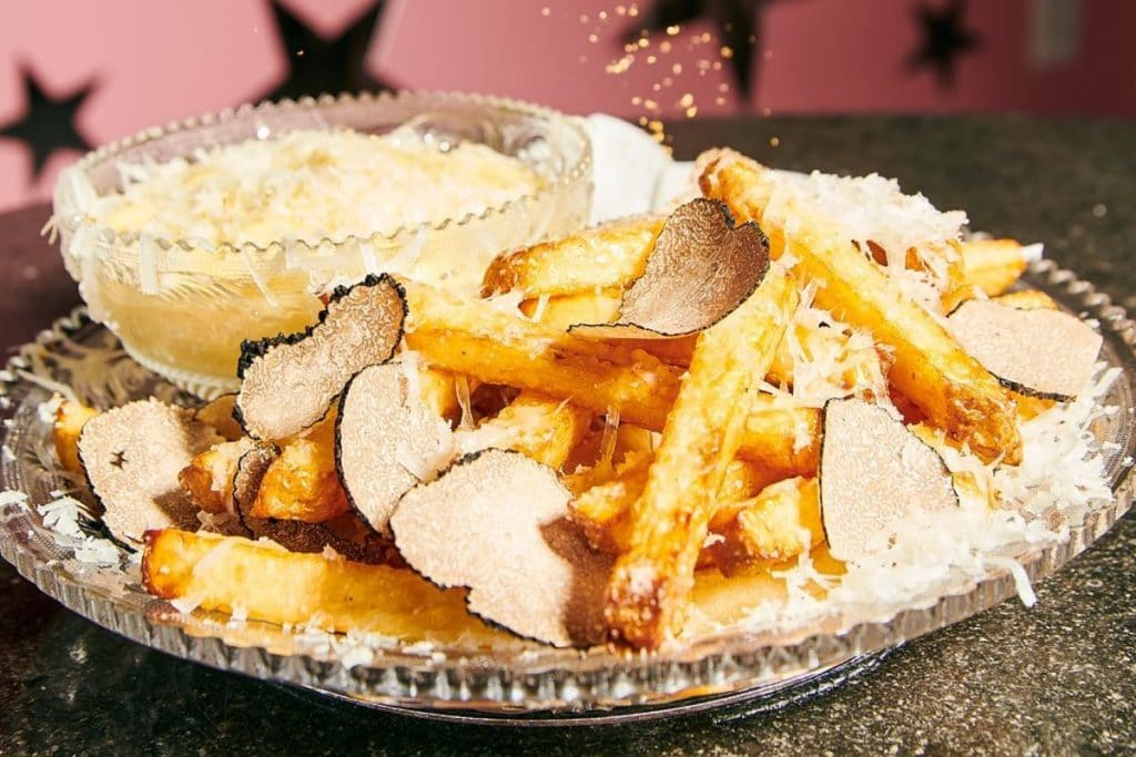 The World's Most Expensive Fries Are Dusted In 23K Gold And Served At This NYC Restaurant