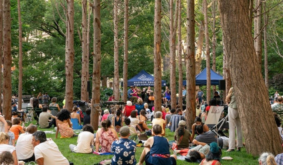 Madison Square Park Is Hosting Free Carnegie Hall Concerts Every Wednesday