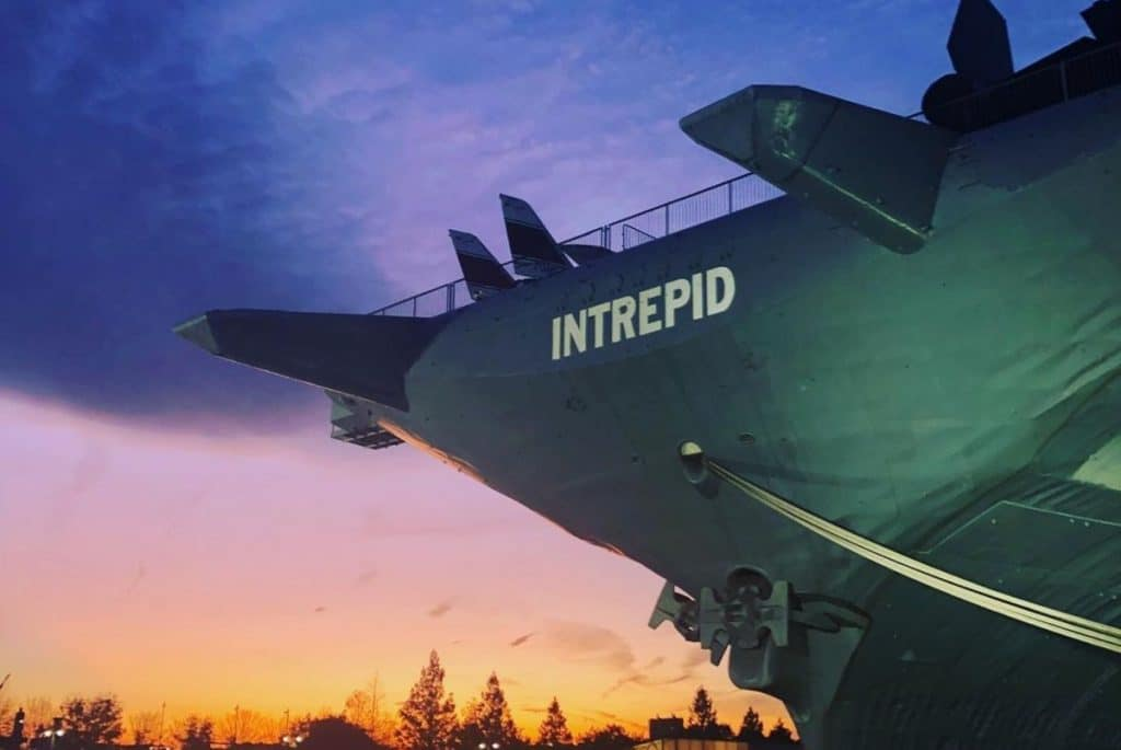 The Intrepid Is Hosting Free Movie Nights On Top Of Its Enormous Aircraft Carrier