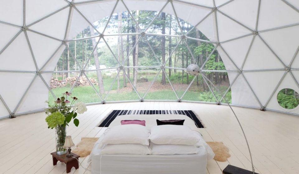 Sleep In A Private Geo Dome At This Stunning Airbnb In The Catskill Mountains