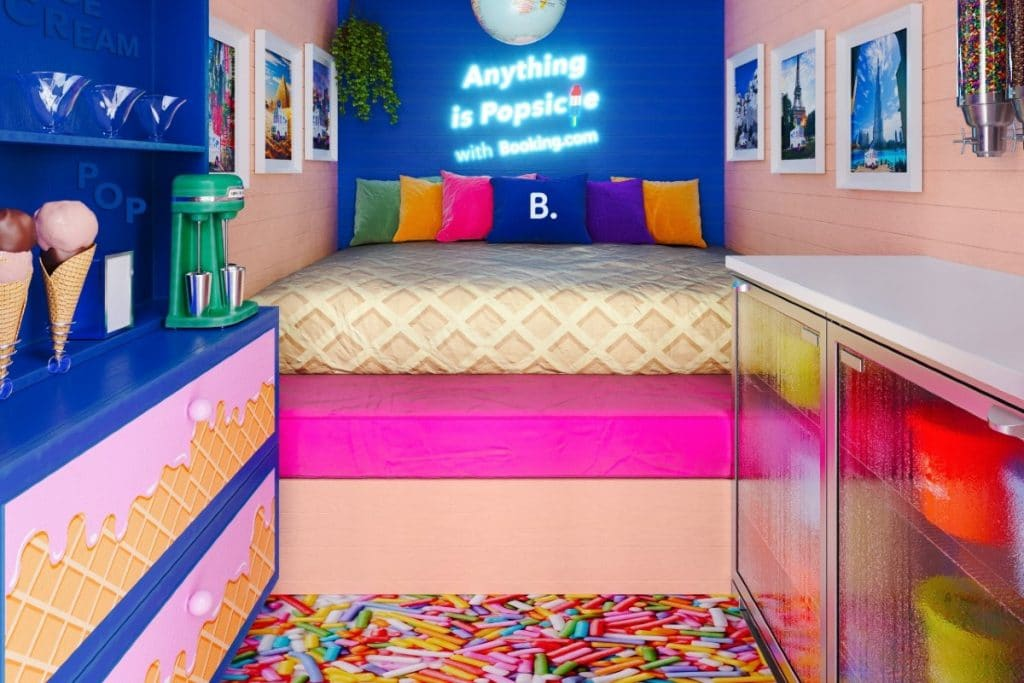 You Can Have A Once-In-A-Lifetime Sleepover Inside Of An Ice Cream Truck In NYC