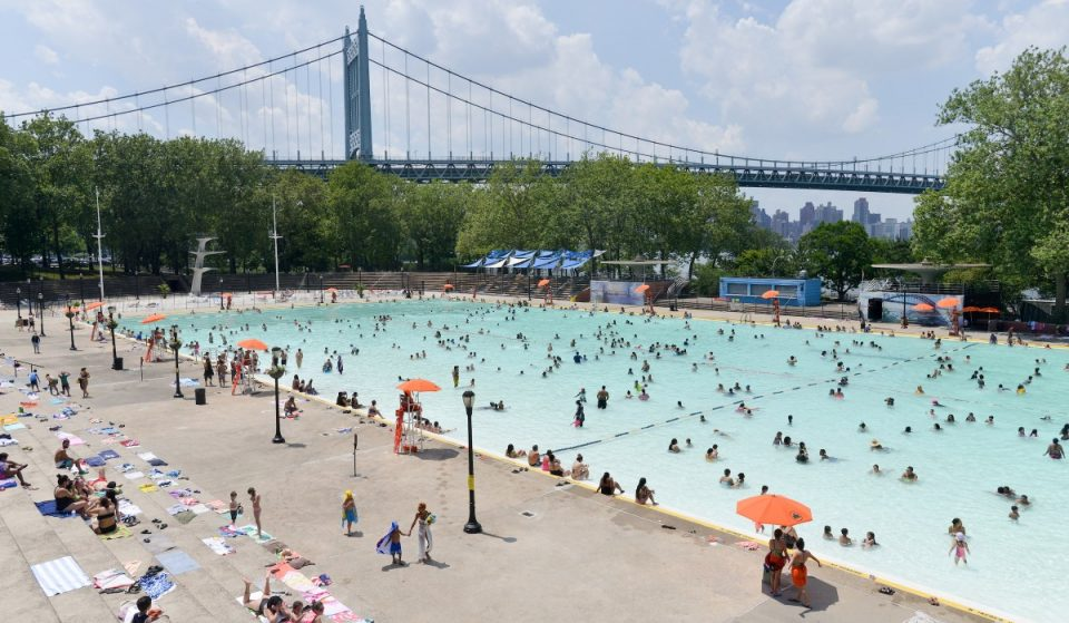 NYC Pools Extend Hours Due To Dangerously High Heat & Humidity