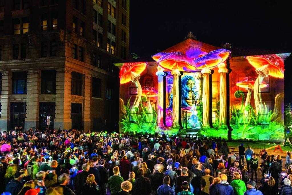 LUMA 3D Light Festival NY