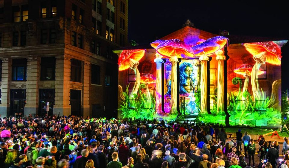 Step Into A World Of Spectacular Visual Arts At This 3D Light Festival Coming To NY