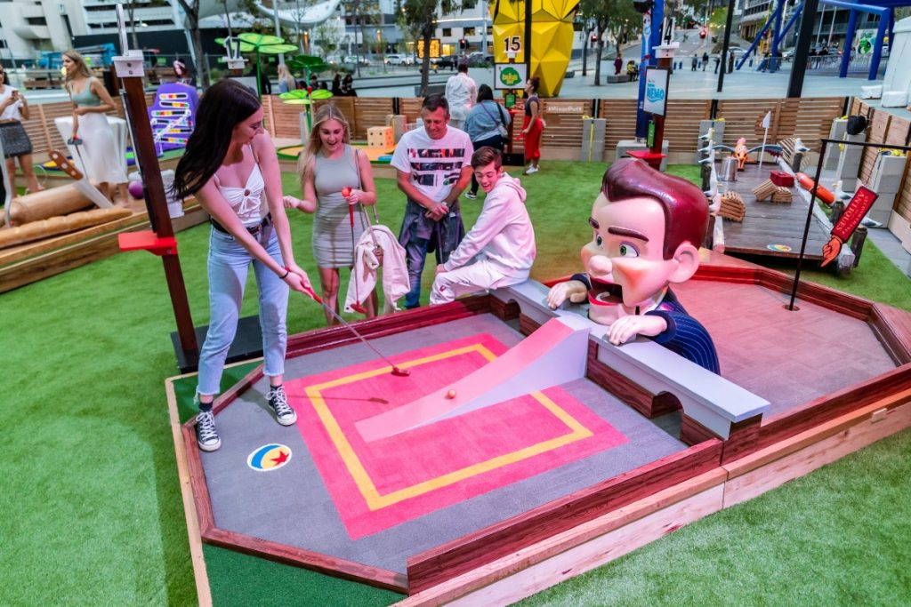 Play Mini Golf At This Fun Pixar-Themed Course In NYC