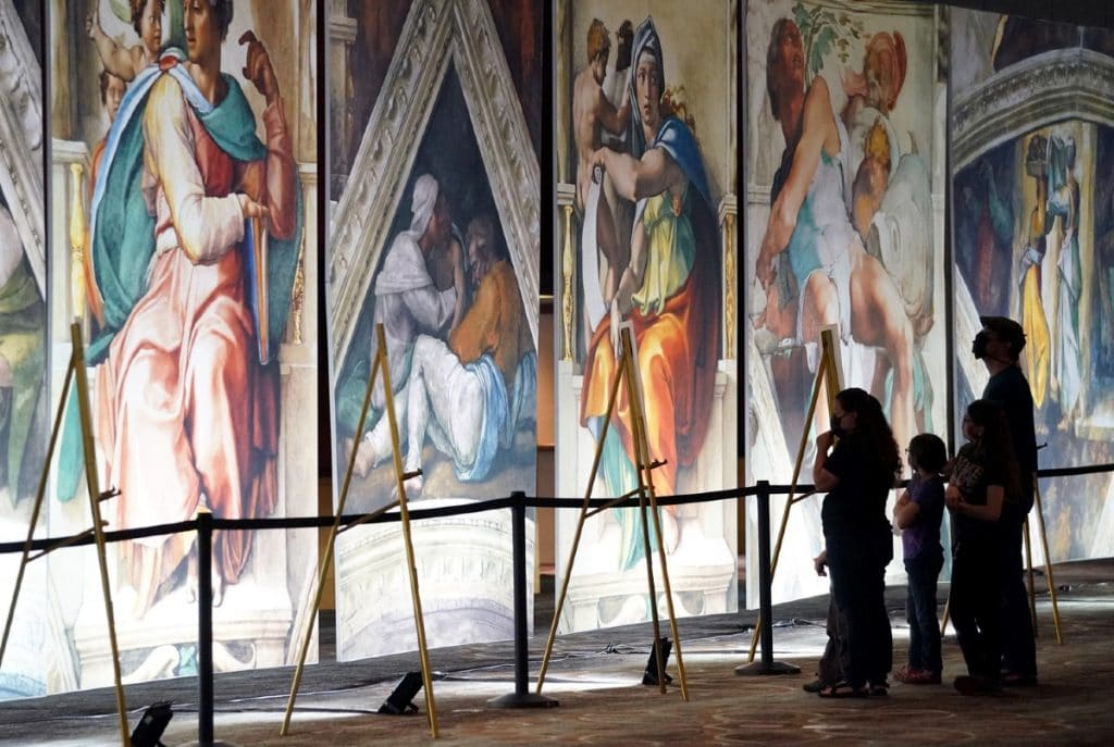 Tickets To NYC's Breathtaking Sistine Chapel Exhibit Are Now On Sale