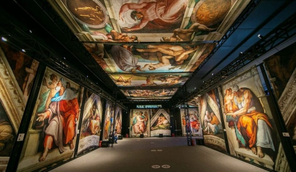 Michelangelo's Famous Sistine Chapel Is Coming To NYC This Fall