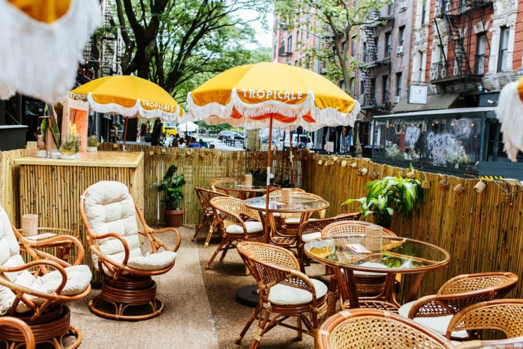 Beloved NYC Speakeasy PDT Just Opened Its First-Ever Outdoor Bar