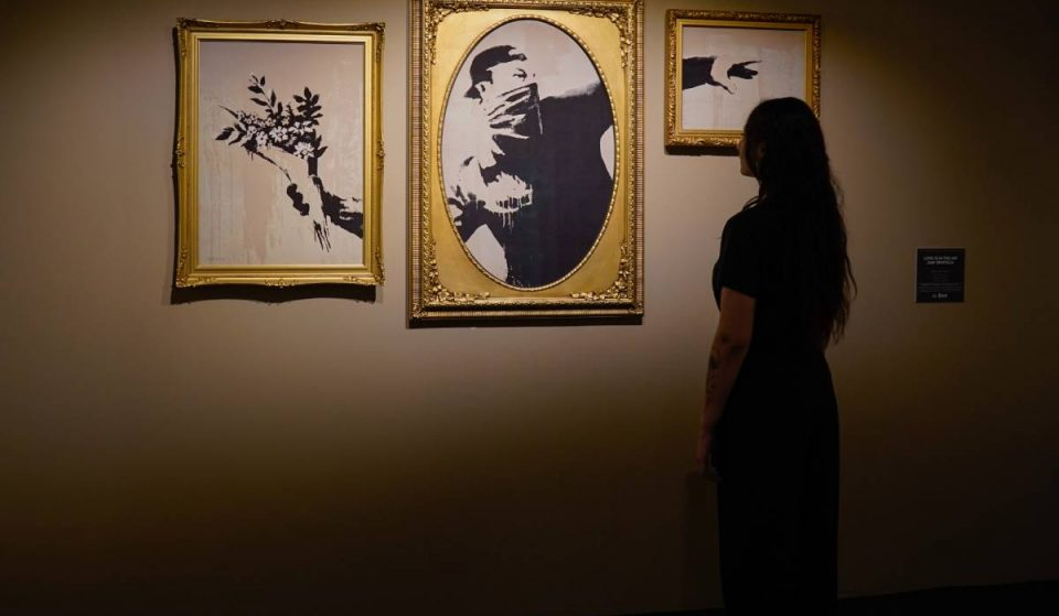 Discover NYC's Epic Banksy Exhibit Right In The Center Of Manhattan