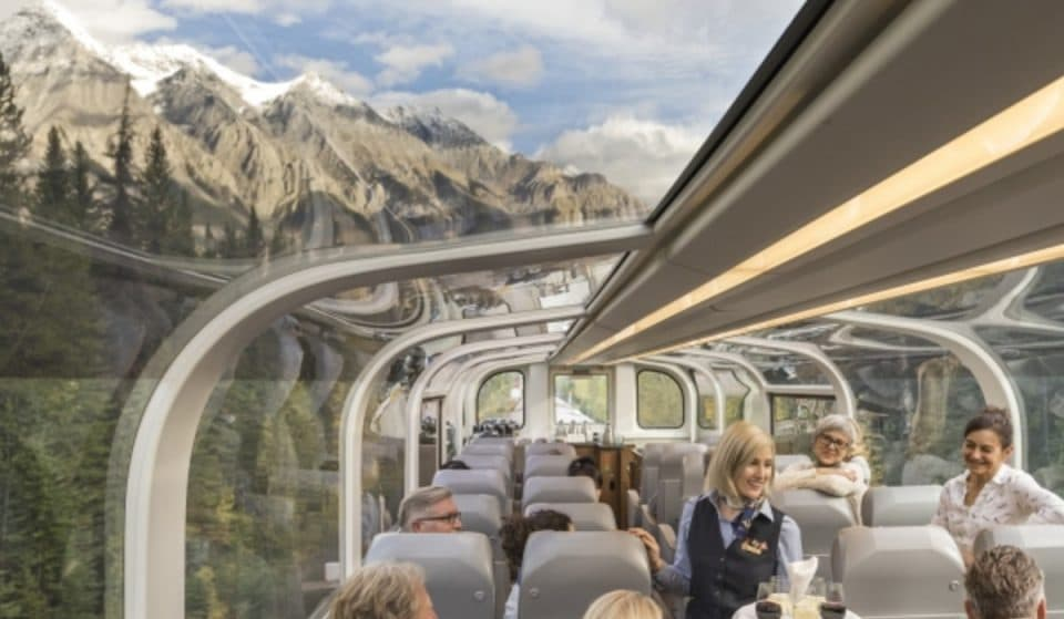Journey Through The Rockies Under A Glass-Dome On This Luxurious Train Route