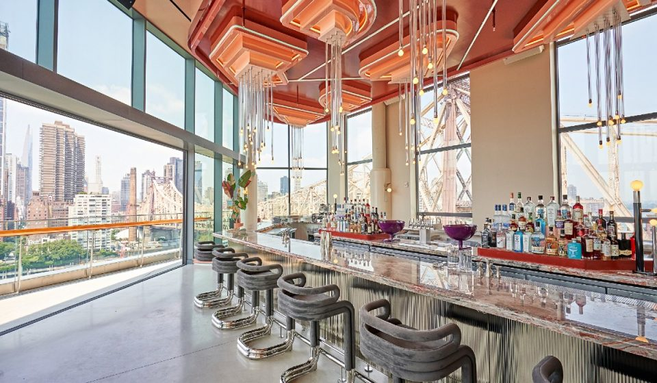 This Rooftop Bar & Restaurant With Stunning 360° Views Of NYC Just Opened On Roosevelt Island
