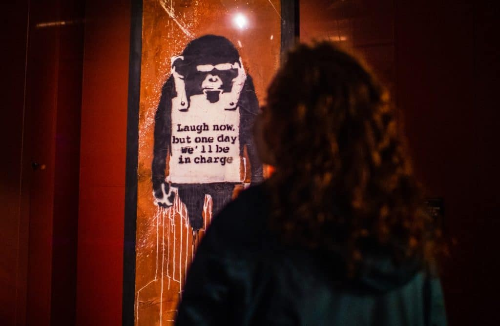 An Epic Banksy Street Art Exhibit Just Opened In NYC, And It Will Blow You Away