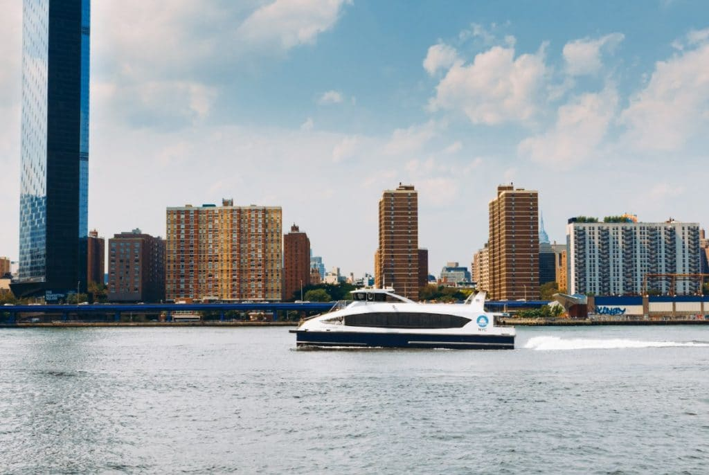 NYC Ferry's New Service Will Connect Staten Island & Midtown West For The First Time Ever