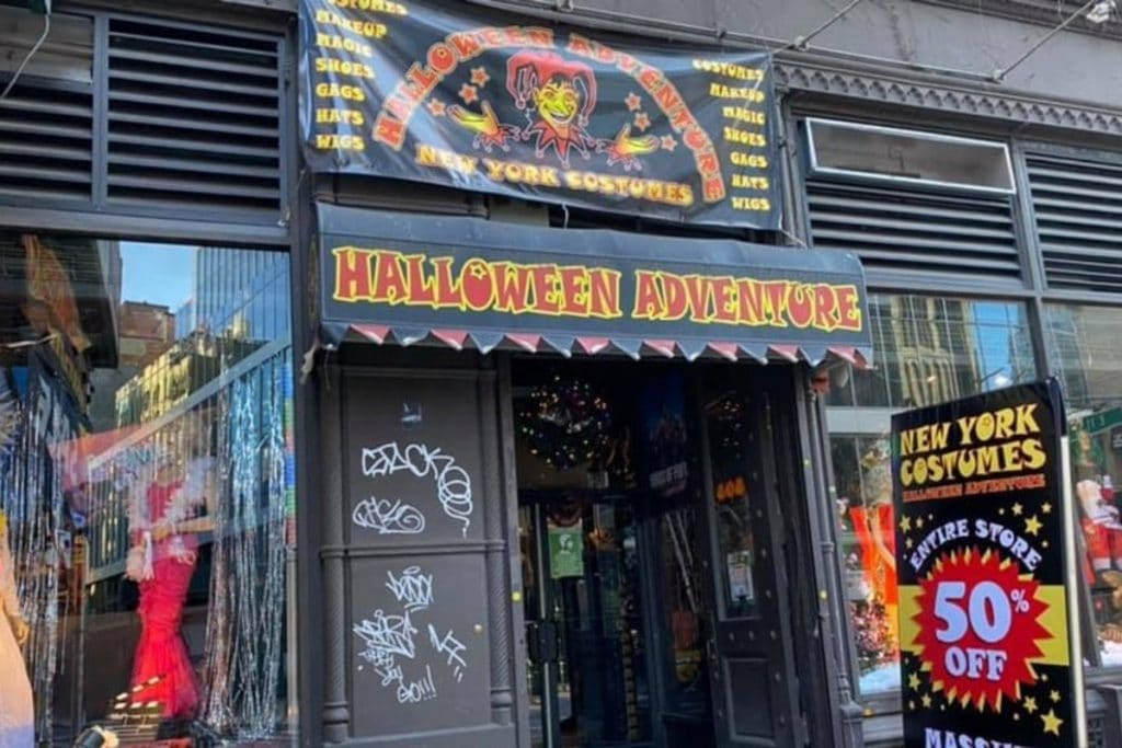 NYC's Largest Costume Store 'Halloween Adventure' Reopens…But For Its Final Year