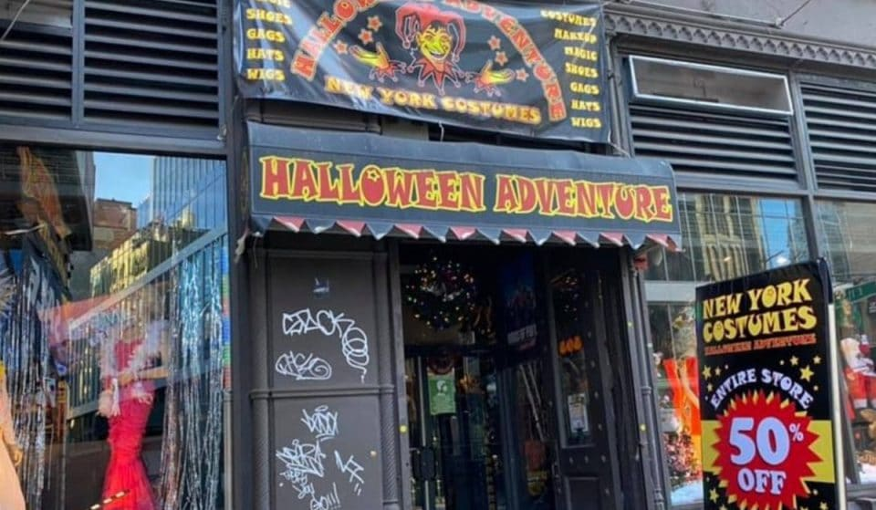 NYC's Largest Costume Store 'Halloween Adventure' Reopens…But It May Be Its Final Year