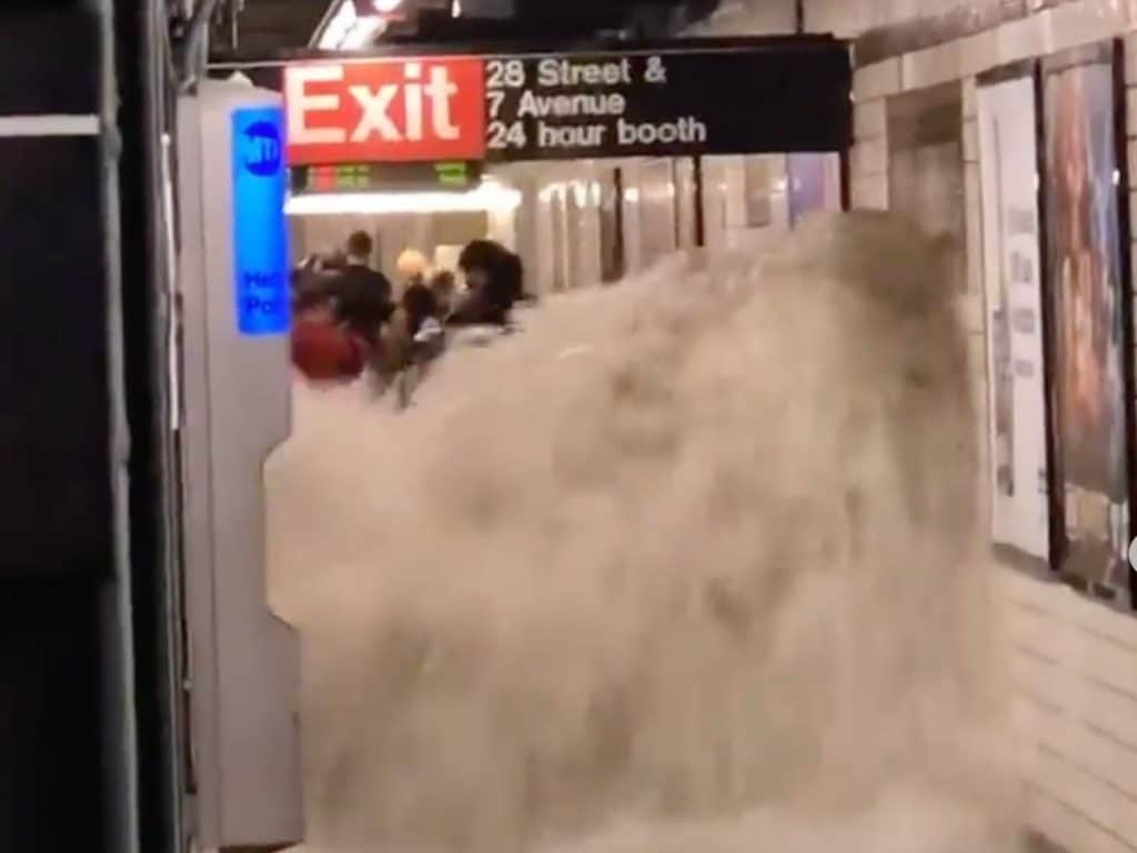 Ida Causes First-Ever Flash Flood Emergency & Record Breaking Rainfall In NYC