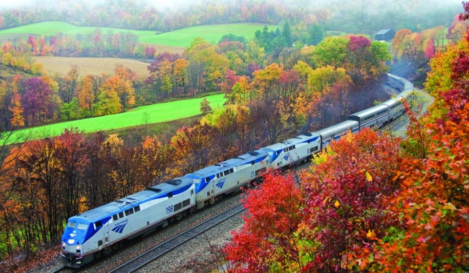 Plan A Train Ride Through New England's Fantastic Fall Foliage With Amtrak's 50% Off Deal