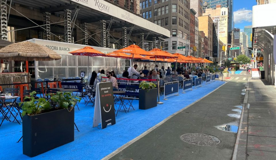 Broadway Will Be Car Free For A New 'NoMad Piazza Pop Up'