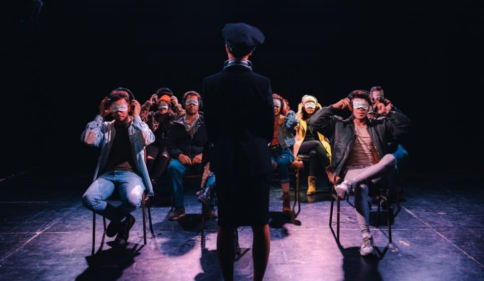Embark On A Psychological Journey Completely Blindfolded At This Exhilarating NYC Performance