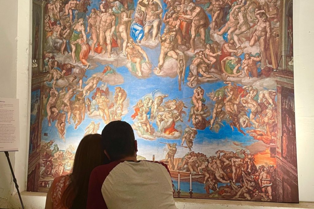 Get A First Look Inside Michelangelo's Magnificent Sistine Chapel: The Exhibition Now Open In NYC