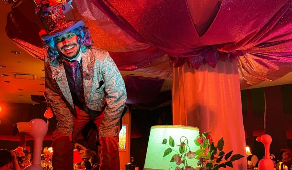 Get A First Look Down The Rabbit Hole At Mad Hatter's Fabulous Gin & Tea Party That Just Opened In NYC