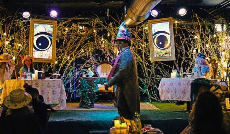 The Highly Anticipated Mad Hatter's Gin & Tea Party Is Now Open In NYC