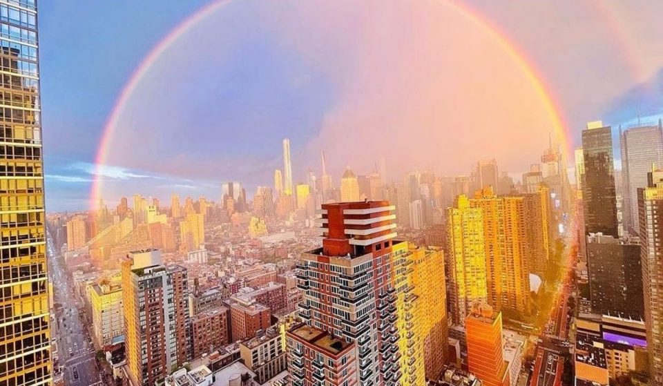 The Most Magical Moments From This Weekend's Double Rainbow Caught On Camera